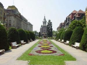 Piata Operei, vedere catre catedrala