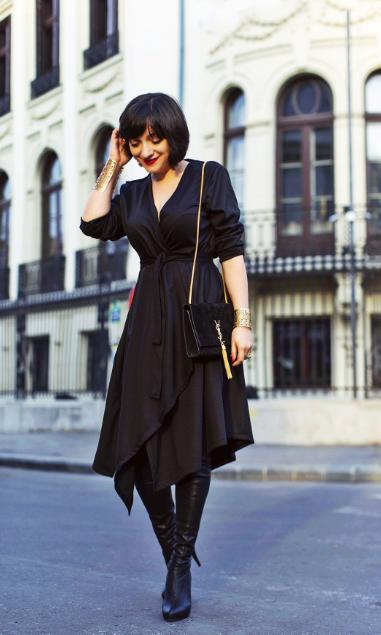 MORODANday Ana wearing Lucian Broscatean