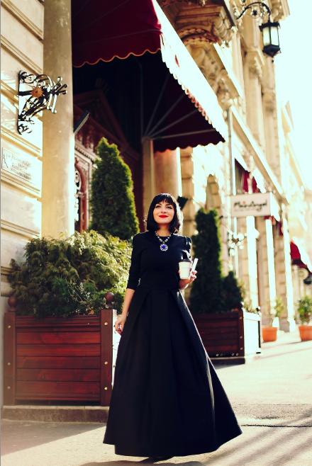 MORODANday: Ana & The Samurai Dress by Ana Alexe