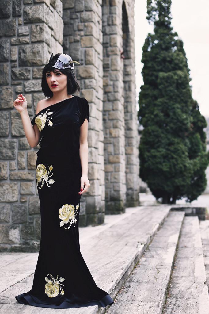 MORODANday Ana wearing Raluca Mihalceanu