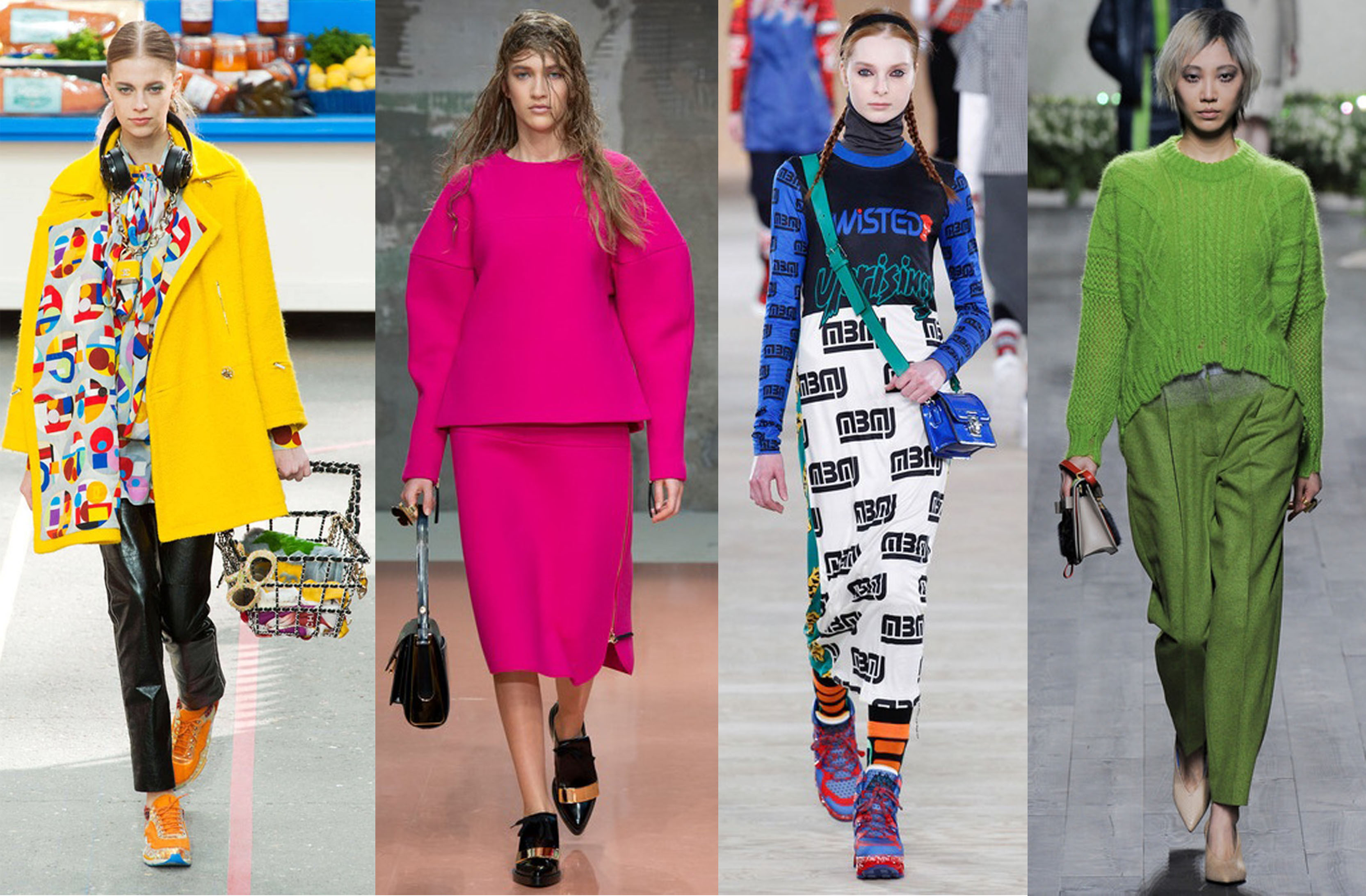 Chanel, Marni, Marc by Marc Jacobs, Vionnet