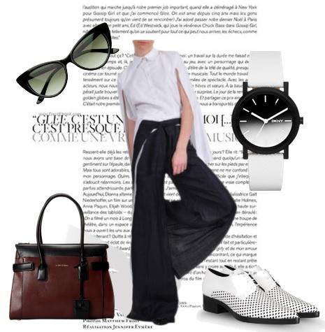 Wrap Tie Trouser by Cristina Sabaiduc