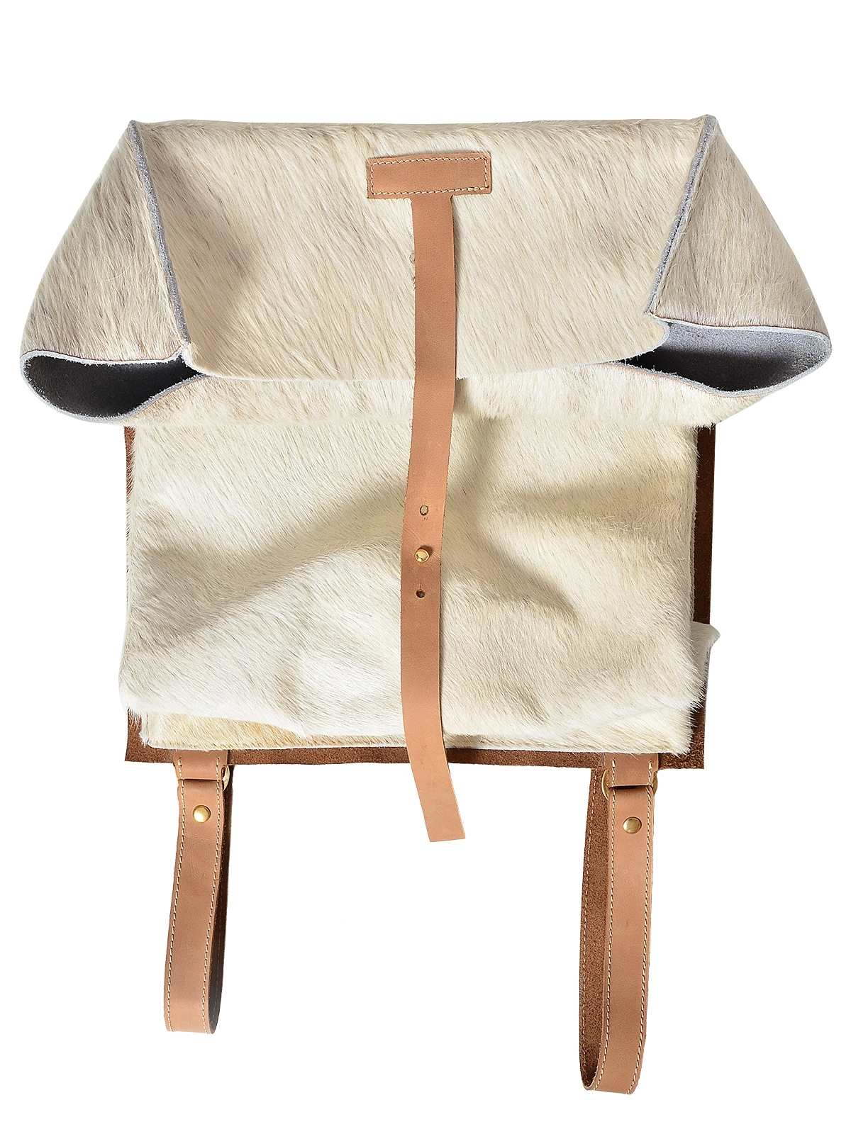 Cattle leather bag by Ana Alexe