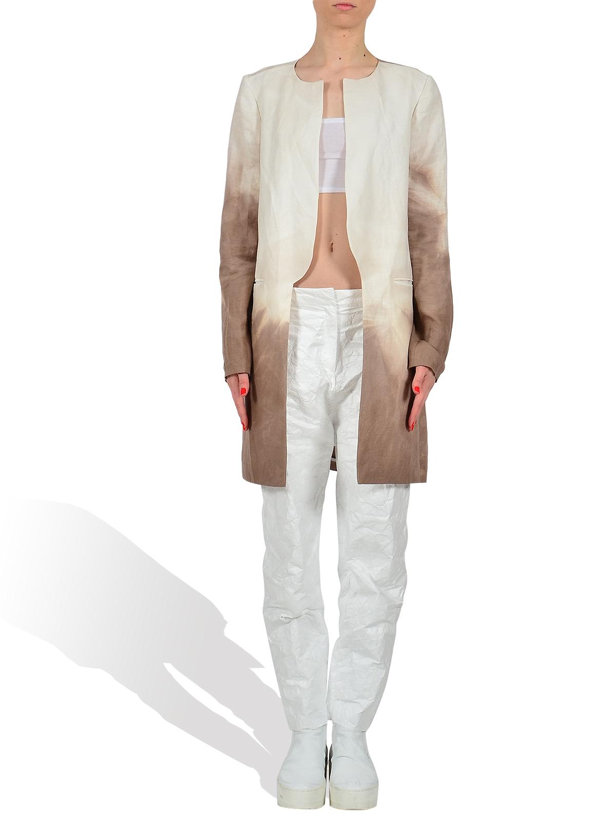 Gradient Linen Jacket by PAS DU TOUT