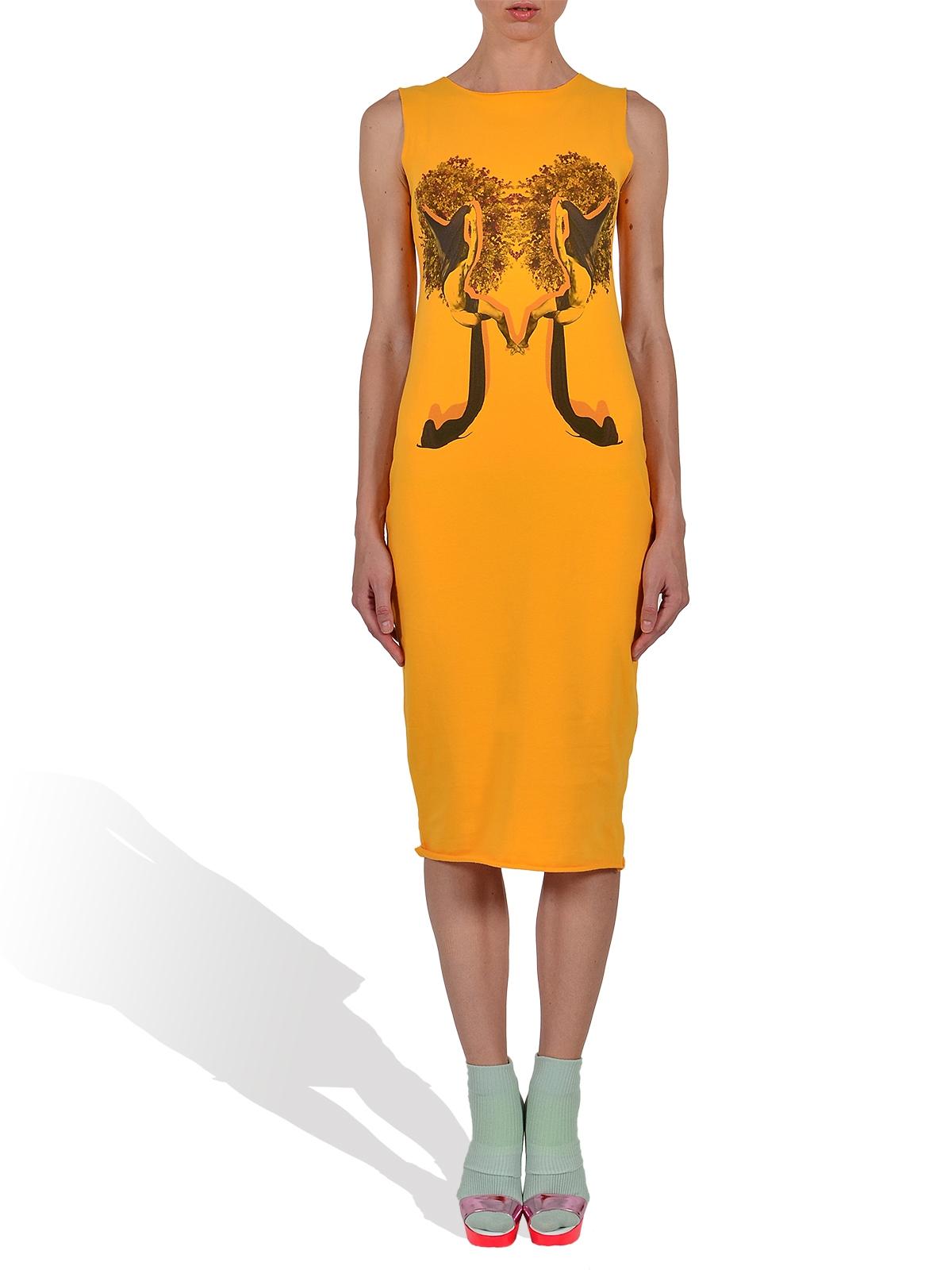 Yellow Tank Dress by LE PETIT INDIGENT