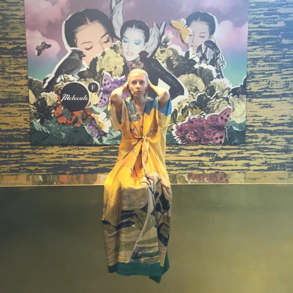 Noemi Meilman wearing Argo Art Design