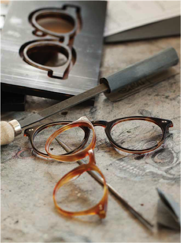 Oliver Peoples details, OPTIblu