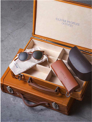 Oliver Peoples ready to go, OPTIblu