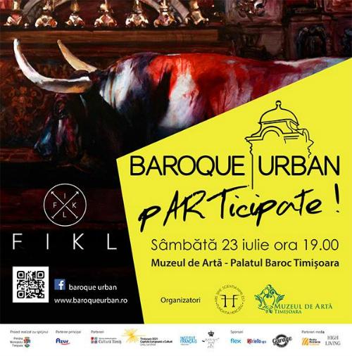 Invitatie vernisaj, 23 iulie, ora 19.00, Muzeul de Arta - Timisoara