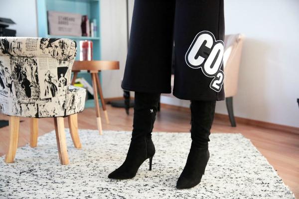 How To Hype: Over-the-knee boots - secretul picioarelor interminabile