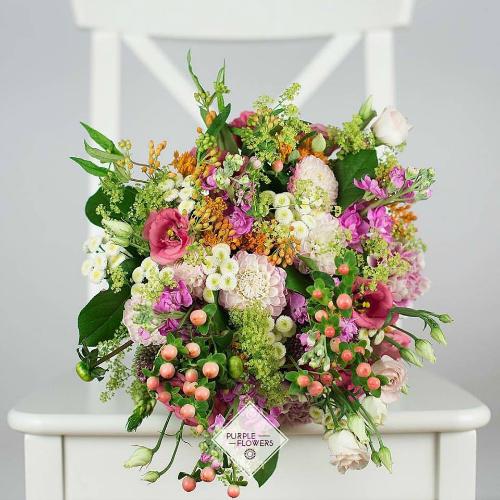 Exprima-ti sentimentele cu un buchet de flori - http://www.purpleflowers.ro/